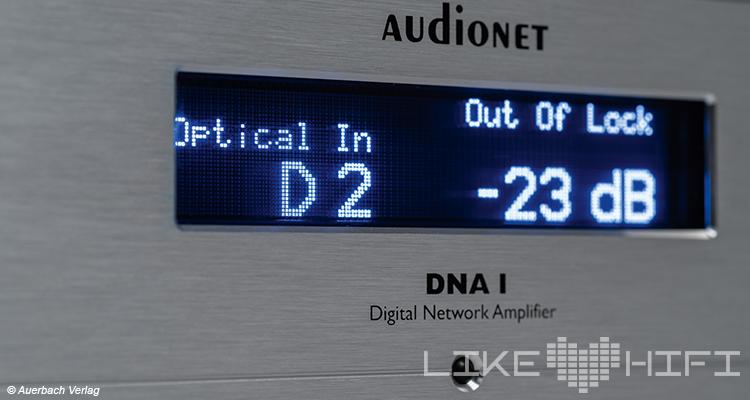 Test Audionet DNA I Netzwerk-Vollverstärker Review Amp Stereo High End  Display