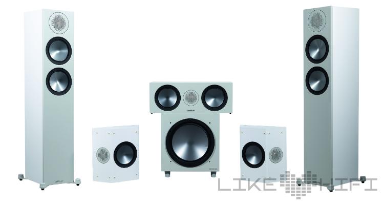 Monitor Audio Bronze Cinema 200 Set Surround Lautsprecher Set 5.1 Speaker Review Test
