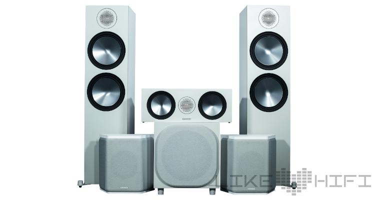 Monitor Audio Bronze Cinema 500 Set Surround Lautsprecher Set 5.1 Speaker Review Test