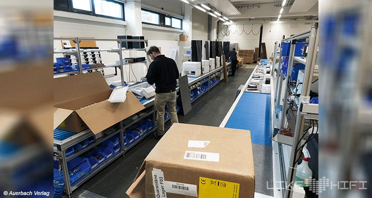 Nubert electronic Lautsprecher Vor Ort Besuch Schwäbisch Gmünd Lager Logistik B-Ware Kaufen Rabatt