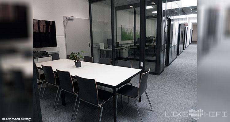 Nubert electronic Lautsprecher Vor Ort Besuch Schwäbisch Gmünd Showroom Büro