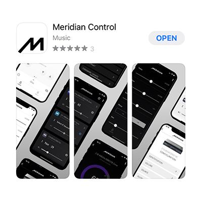 Meridian Control App Store
