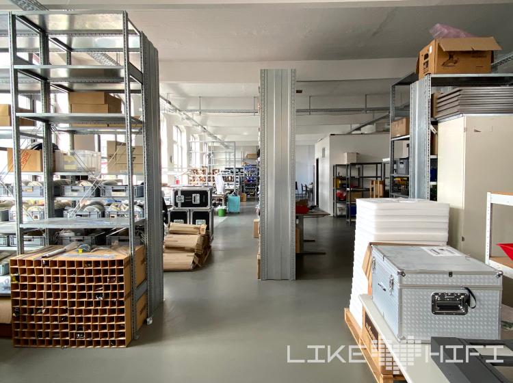 Audionet Berlin Spandau Showroom Besuch Vor Ort High End Werkstatt