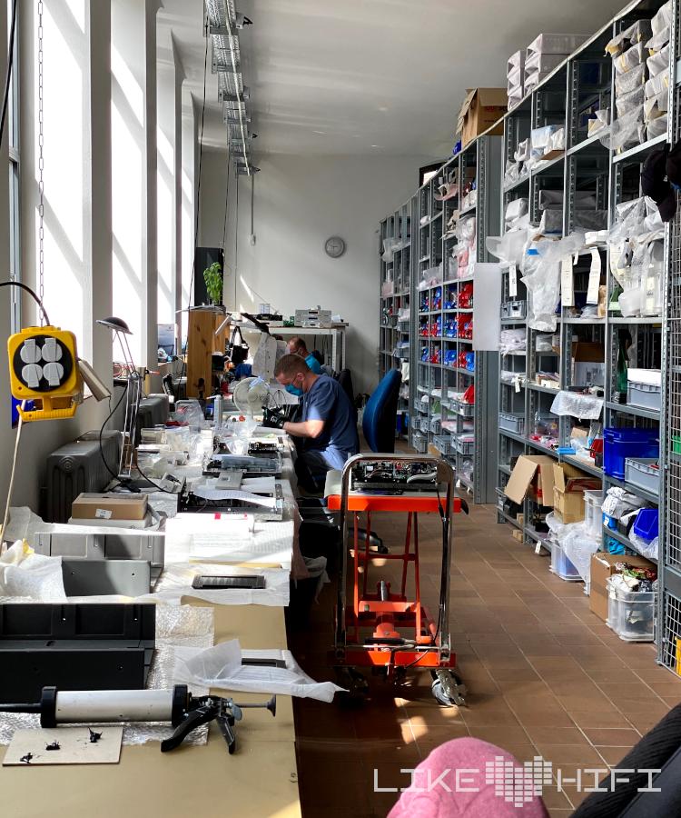 Audionet Berlin Spandau Showroom Besuch Vor Ort High End Werkstatt Produktion