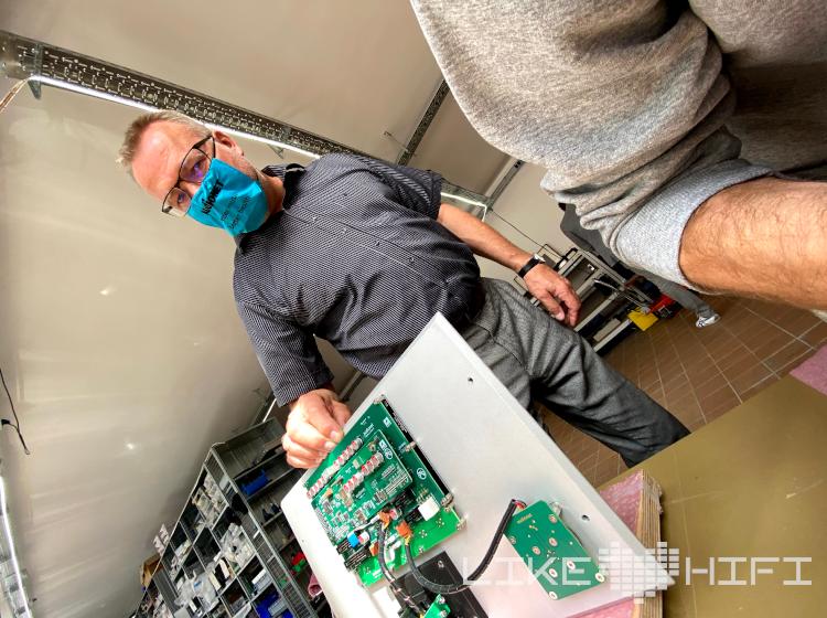 Audionet Berlin Spandau Showroom Besuch Vor Ort High End Werkstatt Produktion Schwehr