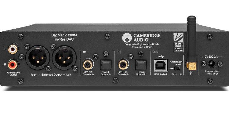 Cambridge Audio DacMagic 200M - Anschlüsse