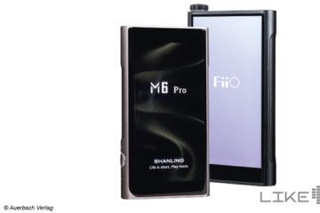 Shanling M6 Pro FiiO M15 Test Review DAP mobile Audioplayer digitale HiRes Hi-Res Player