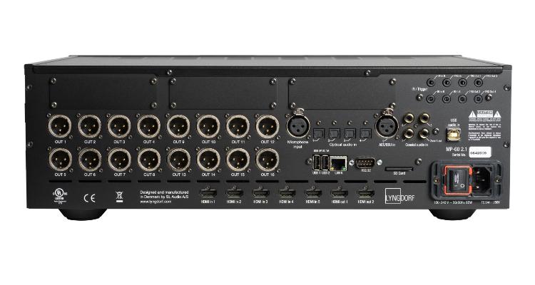 Lyngorf Audio MP 60-2.1 - Anschlüsse