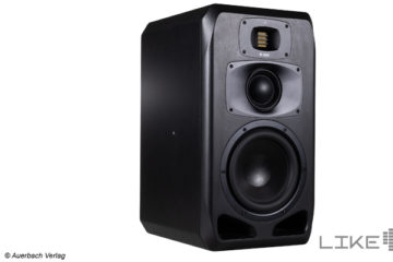 Adam Audio S3V Aktiver Studio Lautsprecher Monitor Aktivboxen Test Review