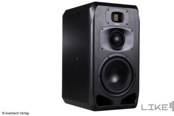 Adam Audio S3V Aktiver Studio Lautsprecher Monitor Aktivboxen Test Review