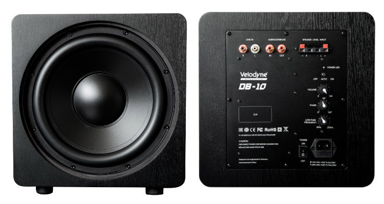 Velodyne Acoustics Deep Blue Subwoofer Speaker News Test Review