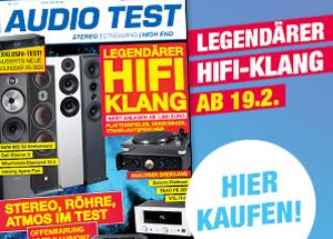 AUDIO TEST Magazin Ausgabe 1/21 2021 Februar Heft HiFi Kaufen Lautsprecher Vinyl Test