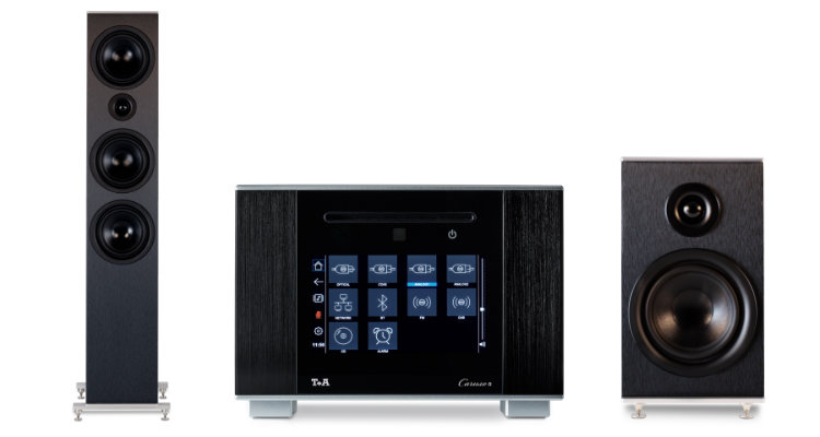 T+A Caruso R Multi Source Receiver System Streaming Anlage News Review Test
