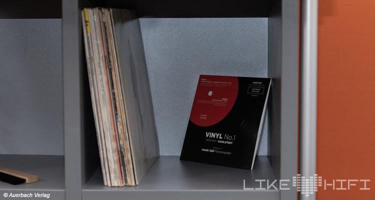 Creaktiv LP-Safe 2-2 Vinylregal mit Schütte Schallplatten Archivierung Test