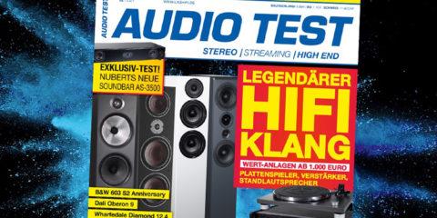 AUDIO TEST Magazin 2/21 2021 HiFi Plattenspieler Test Vinyl Kaufen Shop bestellen Abo Lautsprecher Test Februar