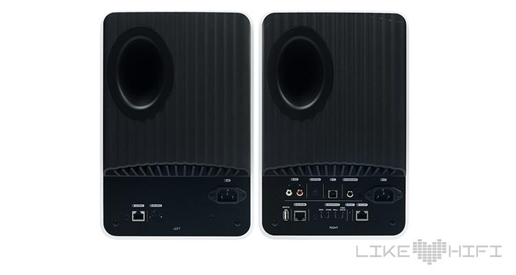 KEF LS50 Wireless Lautsprecher Aktivlautsprecher Aktivboxen Test Review