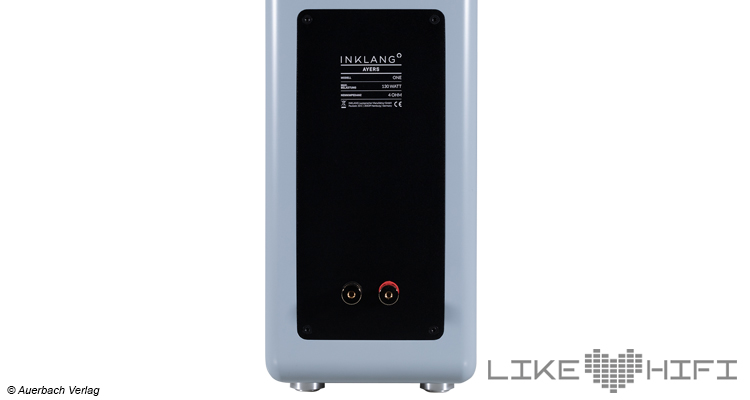 Inklang Ayers One Lautsprecher Kompakt Regal Test Review Audio Test Likehifi Anschlüsse