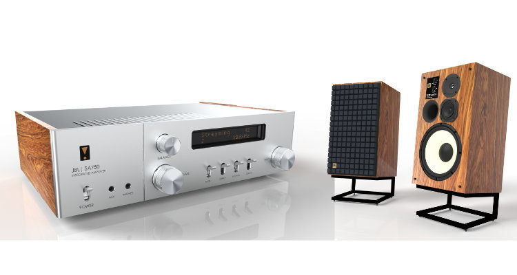 JBL L100 + JBL SA750 Classic Series Speaker Lautsprecher Amplifier Integrated Amp Verstärker News Test Review