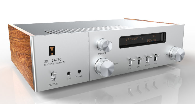 JBL SA750 Classic Series Synthesis Integrated Amplifier Stereovollverstärker News Test Review