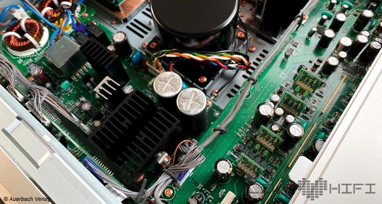 Marantz Model 30 Verstärker Vollverstärker Amp Test Review Likehifi Audio Test Schaltung Innen