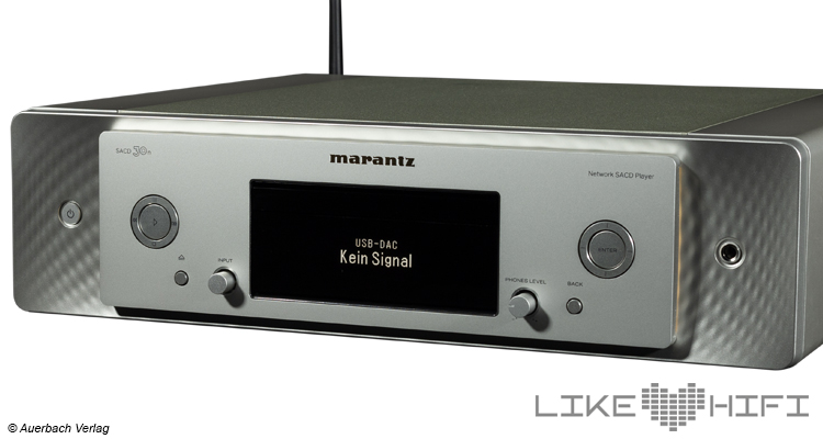 Marantz SACD 30n Netzwerk SACD / CD-Player Test Review Likehifi Audio Test Front