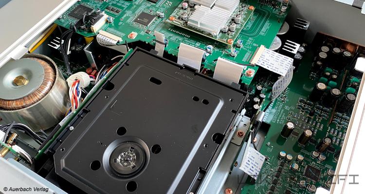 Marantz SACD 30n Netzwerk SACD / CD-Player Test Review Likehifi Audio Test FSchaltung Innen