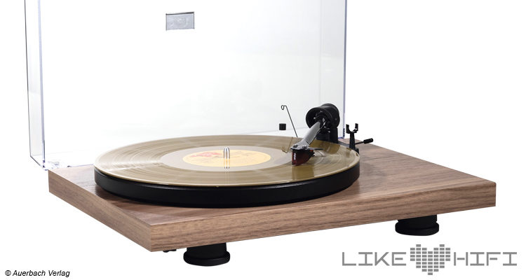 Pro-Ject Debut Carbon EVO Test Plattenspieler Turntable Review ATR
