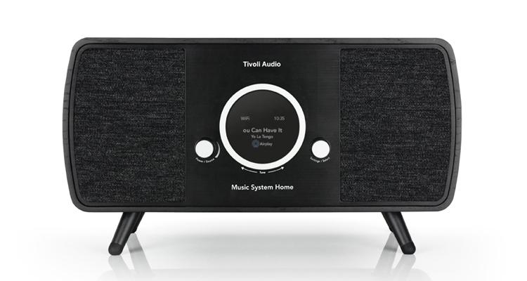 Tivoli Audio Music System Home (2. Generation) black schwarz news test review