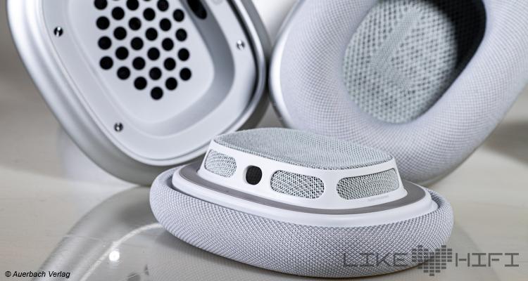 Test Apple AirPods Max Kopfhörer Over-Ear Bluetooth Vergleichstest Review Ohrpolster