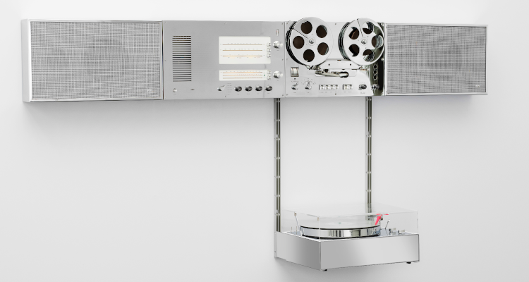 Braun Audio Wandanlage Virgil Abloh 2021 Dieter Rams 2021 HiFi Audio Retro Vintage