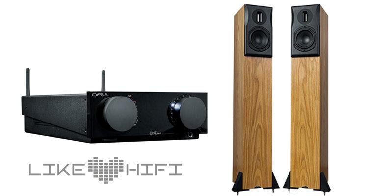 Cyrus One Cast Stereovollverstärker Neat Amp Amplifier Streaming Ekstra Lautsprecher Speaker Test Review