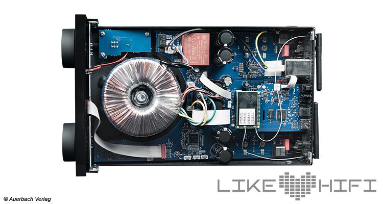 Cyrus One Cast Stereovollverstärker Neat Amp Amplifier Streaming Ekstra Lautsprecher Speaker Test Review Trafo Chips