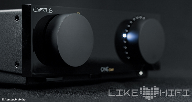 Cyrus One Cast Stereovollverstärker Amp Amplifier Streaming Front Display Test Review