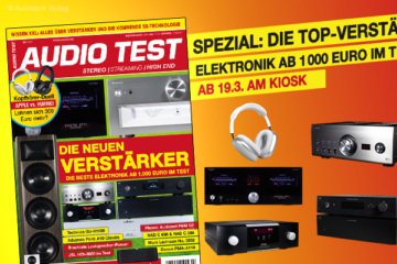 AUDIO TEST Magazin 3/21 2021 HiFi Verstärker Test Vinyl Kaufen Shop bestellen Abo Lautsprecher Test März April