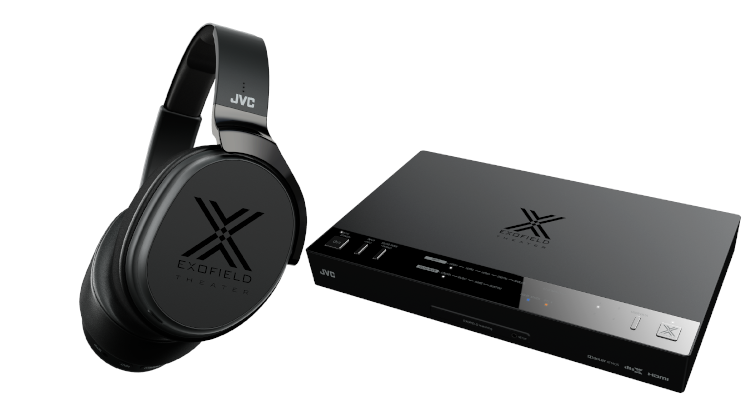 JVC XP-EXT1 System Kopfhörer digitaler Prozessor Preis 999 Euro     EXOFIELD Theater System