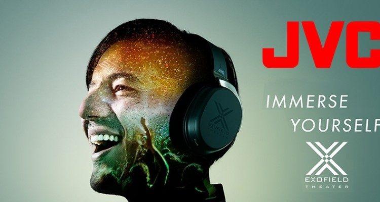 JVC XP-EXT1 Exofield Surround-Sound Kopfhörer Heimkino Mehrkanal Theater Upgrade Update