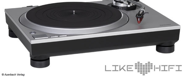 Technics SL-1500C Plattenspieler Test Review Audio Test Likehifi