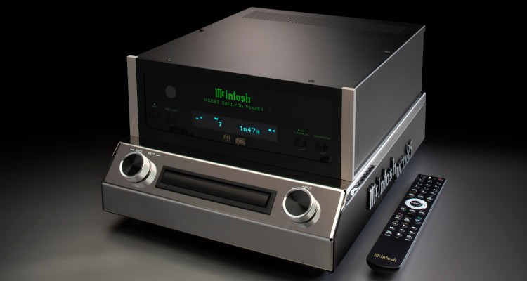 McIntosh SACD/CD-Player MCD85 AC News Test Review SACD CD-Player Audio Components Price