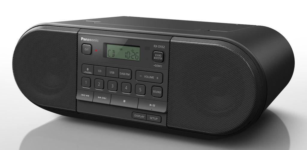 Panasonic RX-D552 UKW-Radio CD-Player Radio DAB+ Boombox
