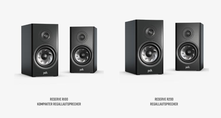 Polk Reserve Lautsprecher Speaker Serie R100 Bookshelf News Test Review Audio