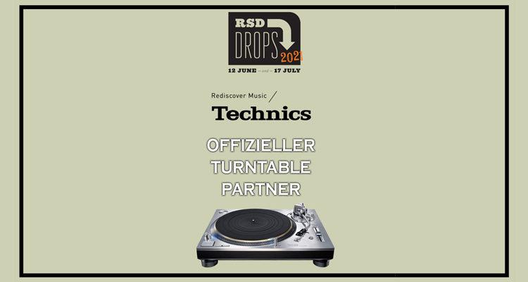 RSD 2021 Record Store Day Technics Partner Gewinnspiel Turntable SL-1200