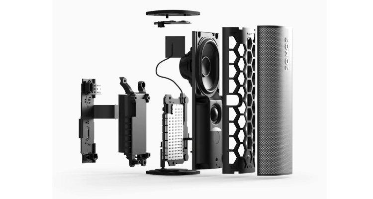 Sonos Roam Lautsprecher Speaker Bluetooth WLAN Streaming Multiroom - Aufbau