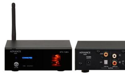 High-End Bluetooth-Receiver Advance Paris WTX-Tubes