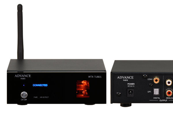 High-End Bluetooth-Receiver Advance Paris WTX-Tubes