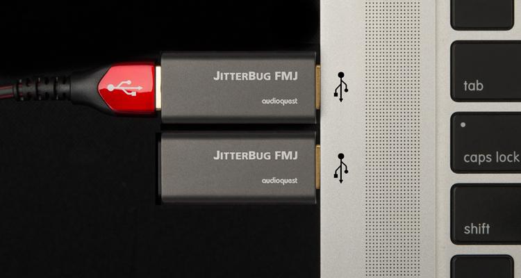 AudioQuest JitterBug FMJ Noise Filter USB Rauschfilter Störungsfilter News Test Review