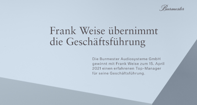 Dieter Burmester Audiosysteme GmbH