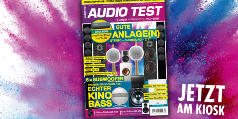 AUDIO TEST Magazin Ausgabe 0421 2021 Mai Subwoofer Test Sonos Review