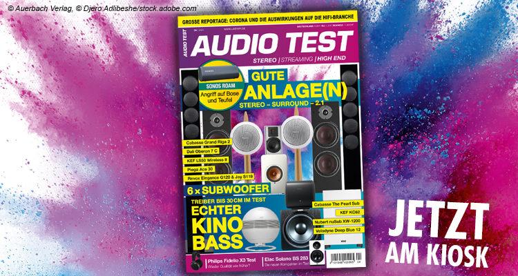 AUDIO TEST Magazin Ausgabe 0421 2021 Mai Subwoofer Test Sonos Review