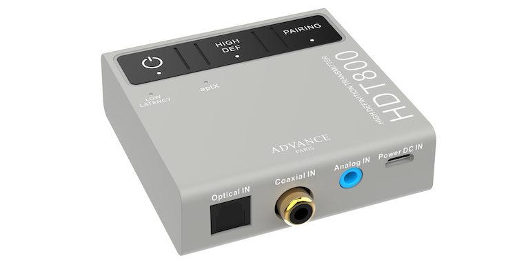Advance Paris HDT800 Bluetooth-Transmitter Audio Sender Adapter Streaming kabellos Funk