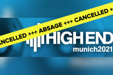 HIGH END 2021 Absage Messe Show HiFi München Cancelled